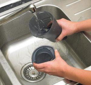 Aspirabriciole lavaggio